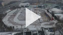 Видеосъёмка строительства