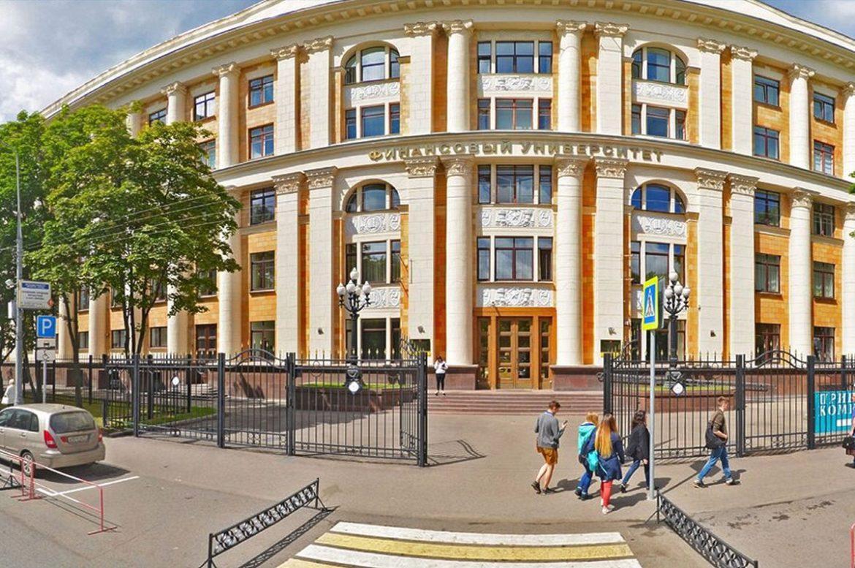 Реконструкция фасада учебного корпуса Финансового университета при Правительстве РФ