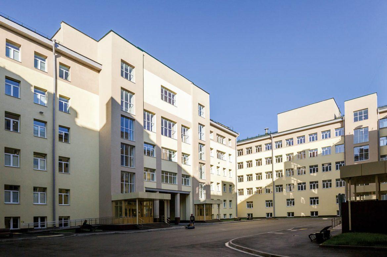 Капитальный ремонт здания Финансового университета по ул. Верхняя Масловка
